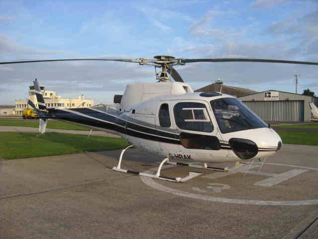 Eurocopter AS350B Squirrel 1984