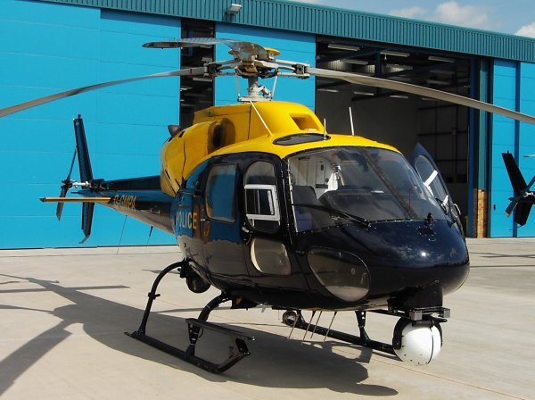 Eurocopter AS355F2 Twin Squirrel 1989 VFR